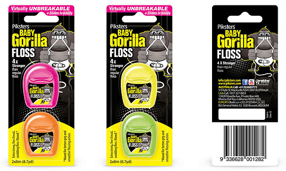 Piksters Baby Gorilla TwinPack