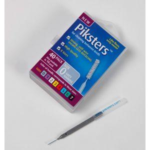Piksters N°0 grigio (x40)