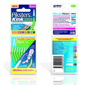 Piksters Kink No. 6 verde (x8)
