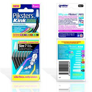 Piksters Kink No. 7 nero (x8)