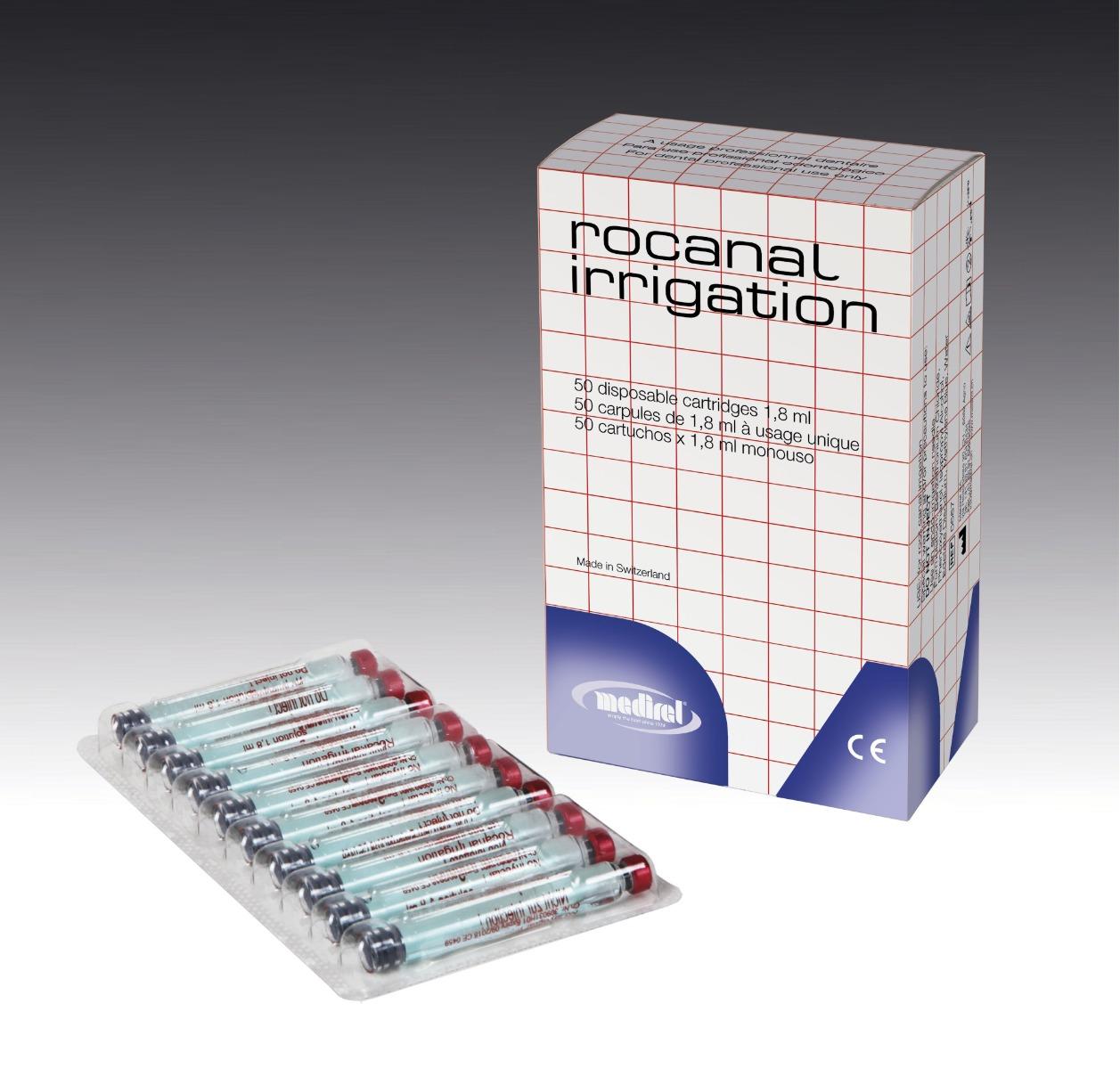 Rocanal Irrigation (50 capsule x 1.8ml)